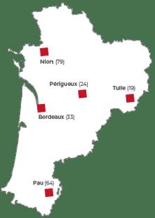 Antennes territoriales FIBOIS