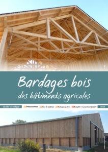 Couverture de la brochure bardages bois des batiments agricoles